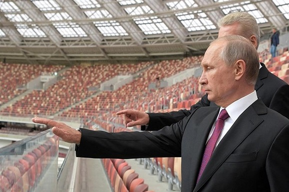 chu tich Nga Putin tai World Cup 2018 stadium - Russia, safety and security