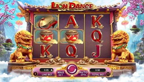 Học cách dành jackpot khi chơi Lion Dance slot game