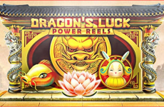 Game casino Dragon's Luck Power Reels slot game HappyLuke